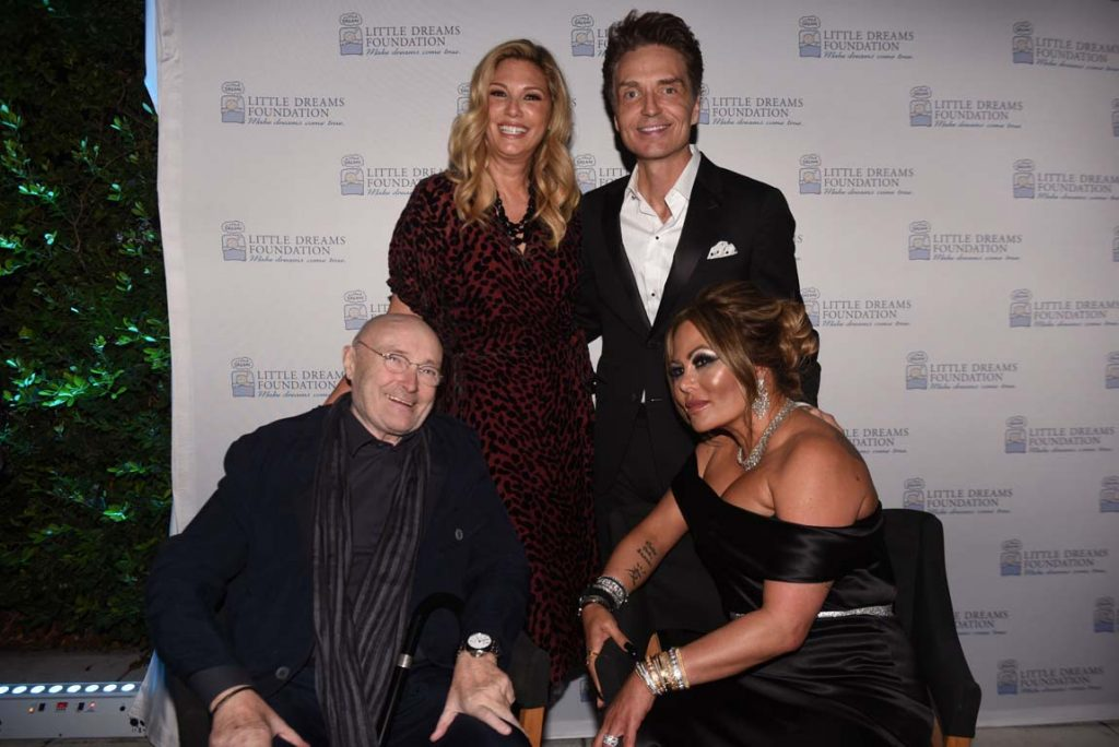 Daisy Fuentes, Richard Marx, Phill Collins & Orianne Collins0
